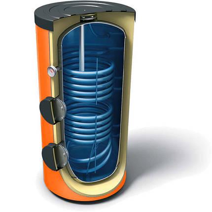 Бак-накопитель косвенного нагрева АТМОСФЕРА 20,300SE двухконтурный на 300 литров, фото 2