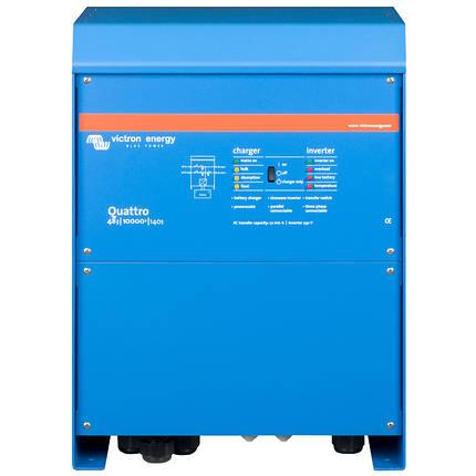Гибридный инвертор Victron Energy Quattro 48/10000/140-100/100 с АВР, фото 2