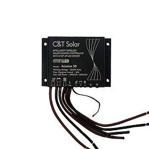 Контроллер заряда для систем освещения C&T Solar Acamar 50, фото 2