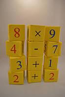 Мягкие кубики для малышей 7/7 см Цыфры