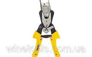 Ручной инструмент для крепления капельной трубки к проволоке