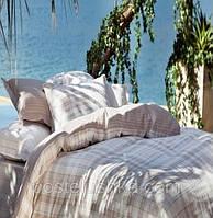 Комплект постельного белья Karaca Home Plaid голубой