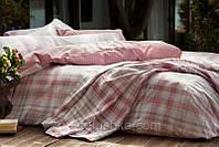 Комплект постельного белья Karaca Home Plaid розовый