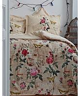 Комплект постельного белья Karaca Home Vanessa крем