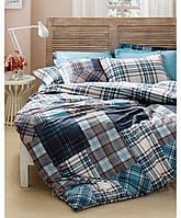 Комплект постельного белья Karaca Home Athena голубой
