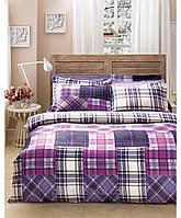 Комплект постельного белья Karaca Home Athena фиолетовый