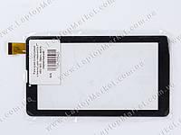"""Тачскрин (сенсорное стекло) для планшета 7"""" 185*105, 30pin, black (зеркальный)"""