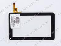 """Тачскрин (сенсорное стекло) для планшета 7"""" FM700402TD, (с отверстием под динамик) 186*112, 12pin, black"""