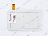 """Тачскрин (сенсорное стекло) для планшета 7"""" TYF-1021-20120830-V1, 186*111, 30pin, white"""