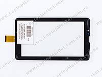 """Тачскрин (сенсорное стекло) для планшета 7"""" YLD-CG0047-FPC-A1, 158*104, 30pin, black"""