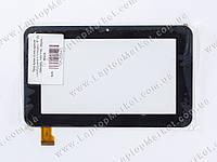 "Тачскрин (сенсорное стекло) для планшета 7"" ZJ-70055A, 193*116, 30pin, black"