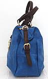 Вместительная женская сумка Эко-кожа  Черная, фото 8