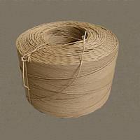 Шпагат бурый бумажный крученый диаметр 2,8-3,0 мм., фото 1