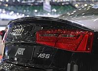 Спойлер Audi A6 C7 стиль ABT (копия)