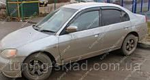 Вітровики вікон Хонда Цивік 6 (дефлектор бічних вікон Honda Civic 6)