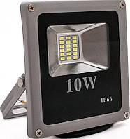 Светодиодный LED  прожектор SLIM 10 w IP66 1000 Lm 10Вт