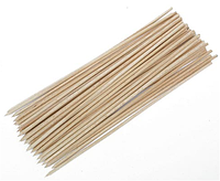 Палочки для шашлыка 20 см 100 шт бамбук