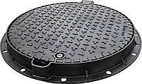 Люк канализационный средний KASI тип С (В125) KВL03P (Чехия)