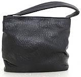Вместительная женская сумка - мешок. Эко-кожа. Молочный, фото 6