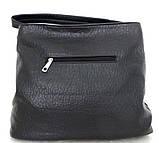 Вместительная женская сумка - мешок. Эко-кожа. Молочный, фото 7