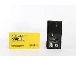 Аккумулятор для рации Kenwood KNB 14, емкость аккумулятор 1300 mAh, напряжение 7,4В