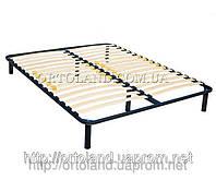 Двуспальный металлический каркас для кровати XXL 2000*1600 ORTOLAND