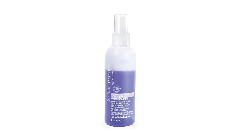 INEBRYA Hair Lift BI-PHASE BLOND Двухфазный кондиционер для светлых волос 200 мл.