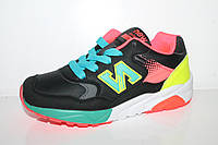 Кроссовки оптом для подростков. Спортивная обувь для девочек от фирмы Kellaifeng 1831A-2 (8пар 32-37)