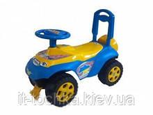 Детская машинка-каталка Автошка flamingo toys 013117/05 с музыкальным рулем
