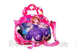 Детская мягкая сумочка для девочки 010 размер 24х20см