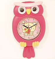 Настенные часы с маятником СОВА, фото 1