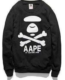 "Свитшот мужской с принтом ""AAPE By A Bathing Ape"" | Кофта"