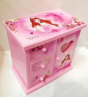 Музыкальная шкатулка с балериной в форме шкафа 6030
