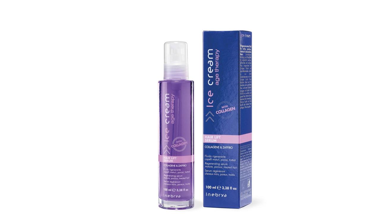 INEBRYA HAIR LIFT SERUM сыворотка для зрелых, пористых волос 100 мл.