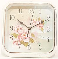 Часы настенно-настольные цветы, фото 1