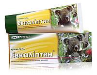 Крем-гель «Эвкалиптин» при рините, синусите, ларингите, фарингите, трахеите, бронхите