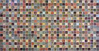 Листовые панели ПВХ Регул Мозаика (античность зеленая)