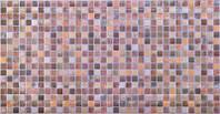 Листовые панели ПВХ Регул Мозаика (античность коричневая)