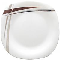 Тарелка суп квадрат 8,5 Элеганс (стеклокерамика) 30040