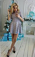 Женское платье из жакарда P 19