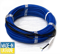 Тонкий двухжильный нагревательный кабель Profi Therm Eko Flex, 150 Вт, площадь обогрева 0,8 — 1,1 м²