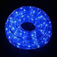 Светодиодный шланг дюралайт 10 метров Pope light 10B синий цвет