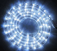 Светодиодный шланг дюралайт белый 10 метров Pope light 10W