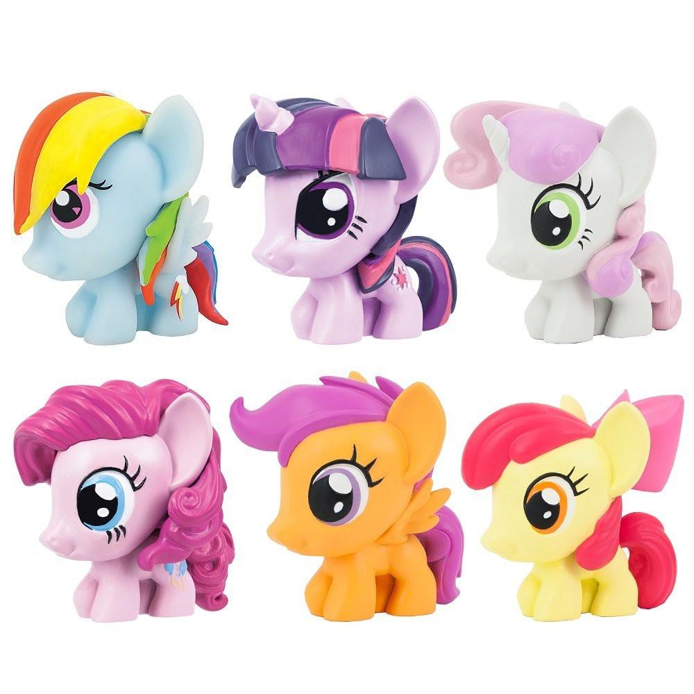 "Набор ""Мой маленький пони"" антистресс 6в1  - My Little Pony, Series 3, Fash`ems, Hasbro"