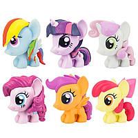 Мягкие мини-фигурки Май Литл Пони 6в1  - My Little Pony, Series 3, Fash`ems, Hasbro