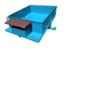 Прицеп-самосвал(стандарт) с тормозами под жиг. универсальную ступицу (1150Х1400) без колес Агромарка