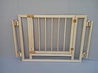 Секция с дверцей 100см большой детский манеж ограждение, устойчивый, компактный, для близнецов двойни