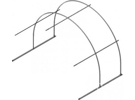 Удлинение теплицы Агросфера Стандарт +2м