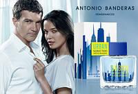 Antonio Banderas Urban Seduction Blue For Men edt 100 ml. мужской