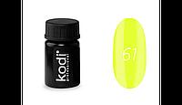 Гель краска Kodi №61